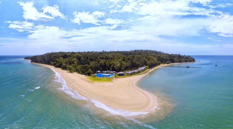 位于Pulau Tiga的Borneo Eagle Resort