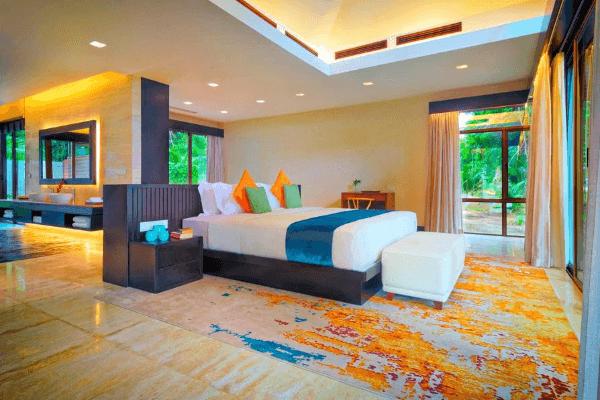 Coral Villa 睡房