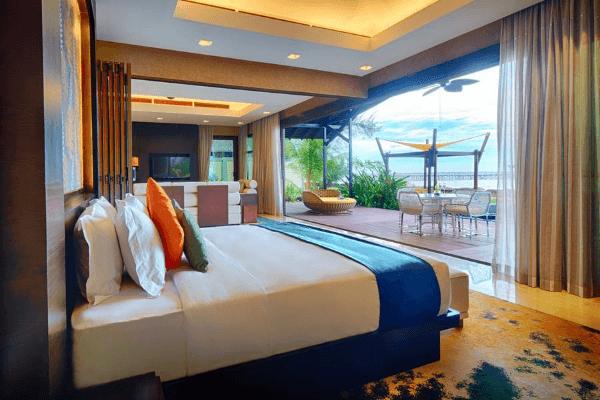 Pool Villa睡房